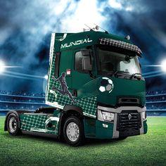 Renault Trucks T-high Mundial Edition - Новости - о компании - Renault Trucks РОССИ́Я