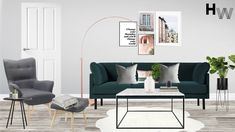 Final Visulaisation. Room Design Package: Classic, Room: Open Plan, Style: Contemporary, Budget: £5000 Designer: Charlie T