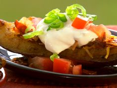 Paula's Home Cooking - Grilled Potato Skins