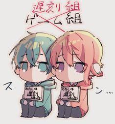 Twitter Cute Anime Chibi, Kawaii Anime, Fan Art, Drawings, Strawberry, Twitter, Cute Anime Guys, Anime Girls, Anime Art
