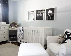 Esse super moderno quarto de bebê foi criado pela talentosa artista Adriane…