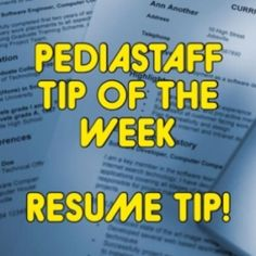 Many people include too many jobs on their resumes that are irrelevant to their desired career path. For example, while its important to show that you worked your way through high school and college, its OK to consolidate those fast food and retail jobs to a single short paragraph.  The interpersonal and problem solving skills you develope - - click on pin for more!    - Like our instagram posts?  Please follow us there at instagram.com/pediastaff