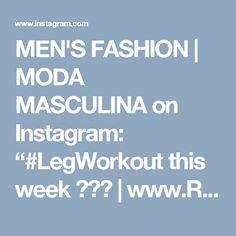 "MEN'S FASHION   MODA MASCULINA on Instagram: ""#LegWorkout this week 👌🏼😎   www.RoyalFashionist.com . . . . . . #royalfashionist #mensfashion #style #menswear #fashionblogger #menstyle…"" • Instagram Men's Fashion, Hair Beauty, Menswear, Instagram, Style, Moda Masculina, Swag, Mens Fashion, Man Fashion"