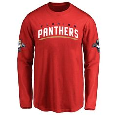 Youth Florida Panthers Design Your Own Long Sleeve T-Shirt - $38.99