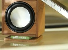 50,000 Year Old Wooden Hand-Crafted Bluetooth Speaker