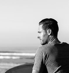 Meet Ace | Matt Bauer, Creative Director, in Venice, CA, wearing the Mayne Crew | Kit and Ace