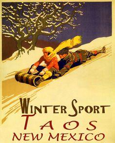 St Anton Ski Austria Skis Rabbit Arlberg School Vintage Poster Repro FREE S//H