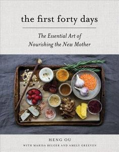 The First Forty Days: The Essential Art of Nourishing the New Mother. This is a beautiful book - beautifully written, beautiful to hold in your hands, and spot-on regarding the importance of nurture and nourishment during the postpartum period. Ayurveda, Ina May Gaskin, 4th Trimester, Pregnancy Books, Happy Pregnancy, Post Pregnancy, Thing 1, After Birth, Postpartum Care