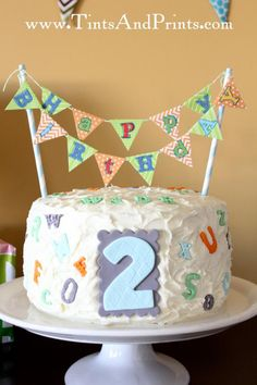 Alphabet ABC Themed 2nd Birthday Party - Kara's Party Ideas - The Place for All Things Party