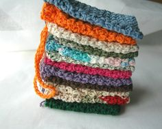 WHOLESALE SoapSavers 20 Pack Cotton  Free Shipping  by SamsCrochet, $40.00