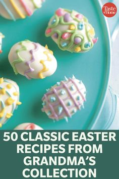 50 Classic Easter Recipes from Grandma& Collection recipes dessert recipes dessert brunch recipes dessert cake recipes dessert easy recipes dessert kids recipes dessert video Easter Candy, Easter Treats, Hoppy Easter, Easter Snacks, Easter Food, Easter Gift, Easter Decor, Easter Eggs, Holiday Treats