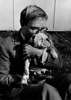 Truman Capote, 1953 (photo by Robert Capa)