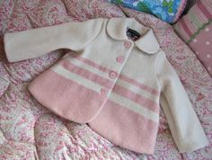 MissMollyCoddle Original Wool Blanket Coat, made from upcycled vintage blankets.