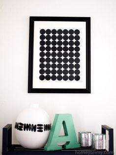 DIY-Graphic-Circle-Wall-Art