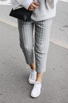 tifmys – Zara sweater, Mango pants, Céline trio bag & Converse Chucks.