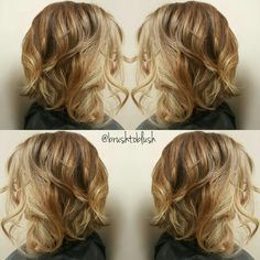 Toffee blonde, schwarzkopf color, color melting, Balayage, babylights