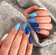 Nails winter Deep Blue Nail Art Design for Winter Season; winter acrylic na Deep Blue Nail Art Design for Winter Season; Nail Art Designs, Simple Nail Designs, Acrylic Nail Designs, Nails Design, Acrylic Art, Blue Nails With Design, Stiletto Nail Designs, Summer Acrylic Nails, Best Acrylic Nails