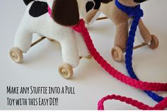 how to make a pull toy