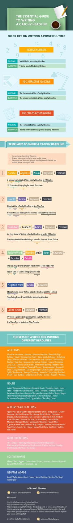 The Essential Guide to Writing a Catchy Headline