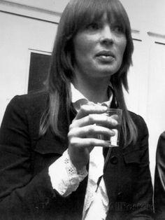 Christa Paffgen Alias Nico, Model, Singer in the Band Velvet Underground Photographie sur AllPosters.fr