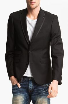 J.C. Rags Extra Trim Fit Twill Blazer available at #Nordstrom