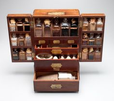 Ships Medicine Chest, England 1836 Unveiling a Medicine Chest This article outlines this medicines chest travels and history