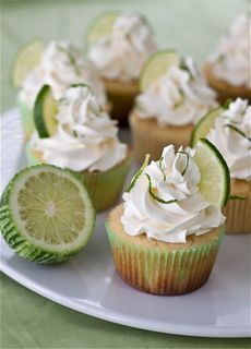 Margarita Cupcakes with Tequila-Lime Buttercream. may steal the frosting for my strawberry margarita cupcakes Margarita Cupcakes, Yummy Cupcakes, Lime Cupcakes, Fluffy Cupcakes, Drunken Cupcakes, Fruit Cupcakes, Coconut Cupcakes, Cupcake Recipes, Sweets