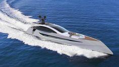 ALDEBARAN S 45-metre Sporty and Futuristic Superyacht Concept