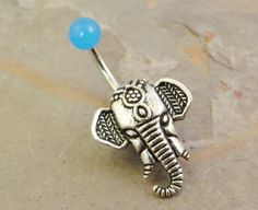 belly button rings moon - Google Search