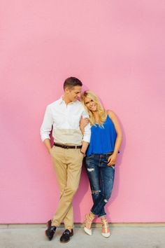 EXCLUSIVE: Jason Kennedy and Lauren Scruggs LA engagement! http://www.stylemepretty.com/2014/08/05/lauren-scruggs-jason-kennedy-a-los-angeles-engagement/ | Photography: http://www.katharrisweddings.com/