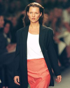 Calvin Klein New York Fashion Week Spring/Summer 1999 Collection; Sept. 18, 1998   - MarieClaire.com