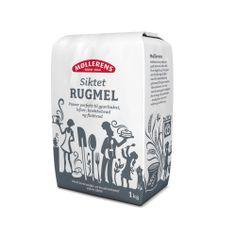 Møllerens Siktet Rugmel  flour packaging sifted rhye