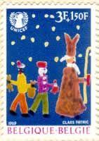 Sinterklaaszegel België