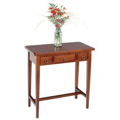 "Winsome Regalia Hall Console Table - 28.5"" high, 28.5 wide, 14"" deep -- $110"