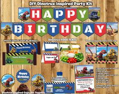 This Download is a complete Rescue Bots Birthday Party Pack (Party Kit). It includes all the Rescue Bots Birthday Items I sell, at a discount for
