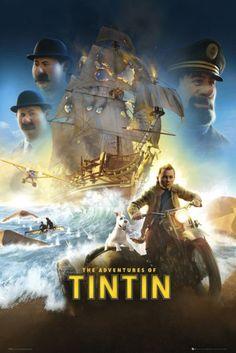 Poster de Tintín, el Secreto del Unicornio   Carteles de Cine y Posters