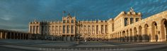 The Palacio Real de Madrid Location: Madrid, Spain. I shot the 8 image panorama in a rather strange way. I had reached once entry to the pa...