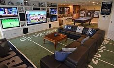 Pinner said: Justins dream man cave. Forget Justin, this is MY dream woman cave :) Man Cave Designs, Man Cave Garage, Man Cave Basement, Garage Game Rooms, Basement Gym, Walkout Basement, Ultimate Man Cave, Vagina, Man Cave Home Bar