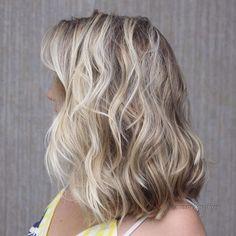 Wavy+Brown+Blonde+Hairstyle