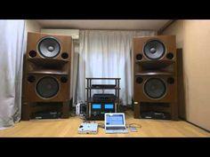 KENRICK SOUND custom made walnut stands for Mr. Mori's Rey Audio RM-8V ケンリック製レイオーディオ用特注スタンド - YouTube