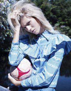 Devon Windsor by Catherine Servel for Numéro Tokyo December 2015
