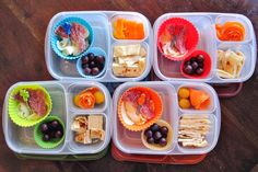 Quick and easy meals for a car trip. From LunchwithEyeness