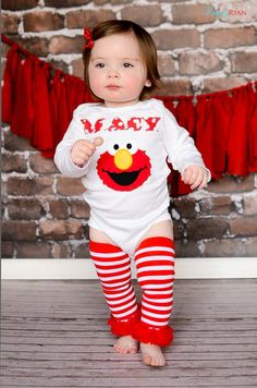 Hey, I found this really awesome Etsy listing at https://www.etsy.com/listing/125409778/elmo-embroidered-shirt