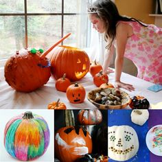 Halloween Activities for Kids - Pumpkin Decorating Ideas