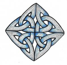 Below are some Celtic Knots I have decorated just to get you in the mood.