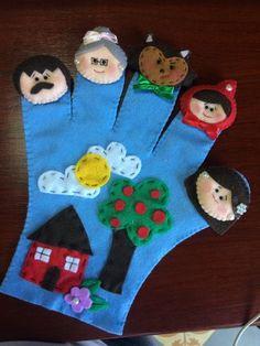 New knitting patterns toddler book Ideas Felt Puppets, Puppets For Kids, Felt Finger Puppets, Felt Crafts Kids, Preschool Crafts, Finger Puppet Patterns, Diy Quiet Books, Puppet Crafts, Toddler Books