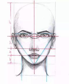 Fashion sketches eyes