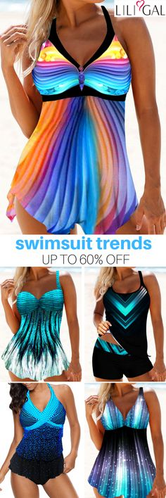Shop Bikinis, Tankinis, One Piece Swimsuits, Swim Cover Ups Mode Outfits, Fashion Outfits, Womens Fashion, Outfit Trends, Outfit Ideas, Vintage Swimsuits, Beachwear Fashion, Plus Size Swimsuits, Bathing Suits