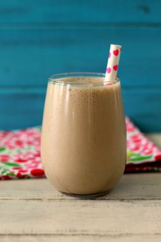 Malted Mocha Ice Coffee - A creamy, guilt-free cold coffee drink that tastes like a combination of coffee meets chocolate milkshake.  58 Calories!