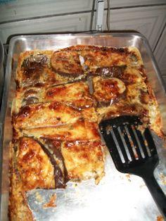 Receita de Berinjela de forno fácil da Cris.